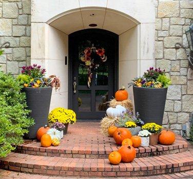 fall porch schedule decor